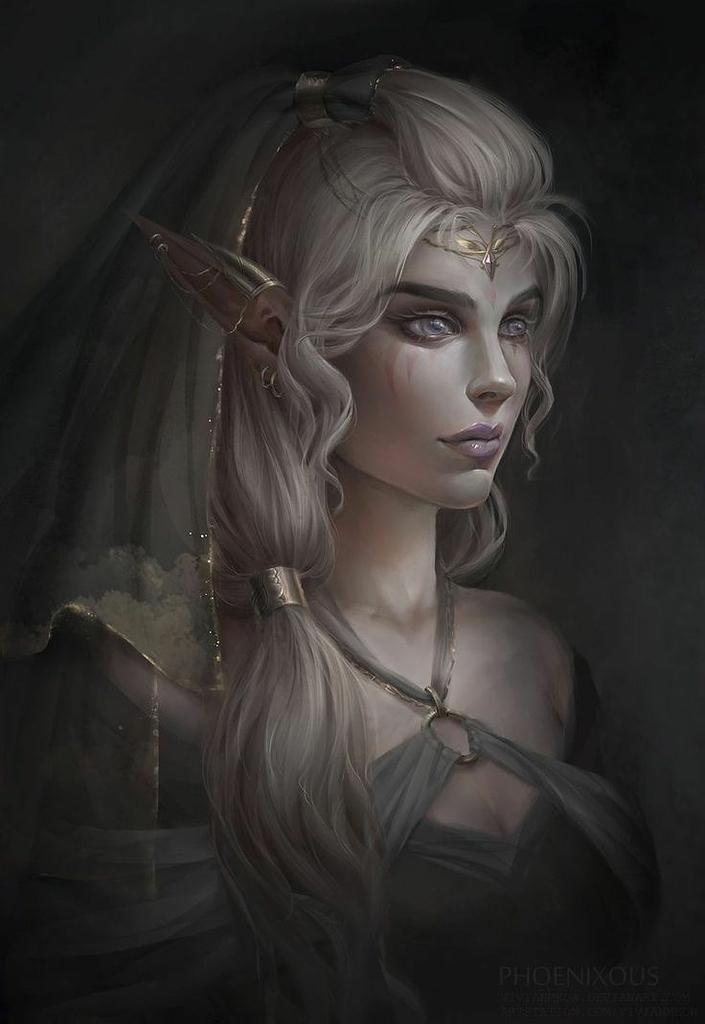 ~ Charaktervorstellung Tyria Avari ~ - Elfen - FTSCraft